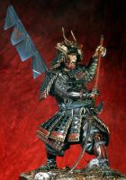 Samurai Warrior with ''Naginata''