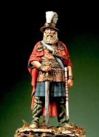 Celtic Warrior of Hallstat period, VI c.