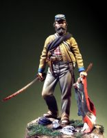 Second Lieutnant with Flag CSA 1863-65